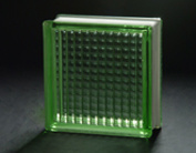 190*190*80mm Green Parallel Glass Block /Glass Brick pictures & photos
