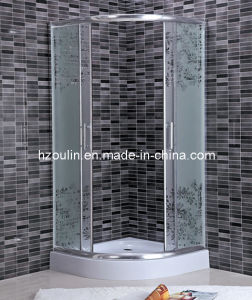 Simple Acid Glass Shower Enclosure Room with CE Certificate (AS-911) pictures & photos