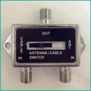 Antenna Cable Switch Antenna Splitter, a/B Switch pictures & photos