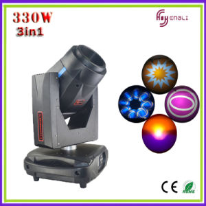 330W 3in1 Stage Wash Beam Spot Moving Head (HL- 330ST) pictures & photos
