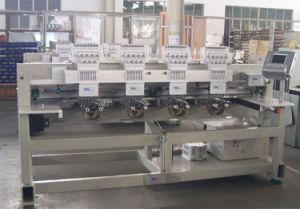 4 Heads 9 Colors Cap Embroidery Machine (YDM-ASF904X)