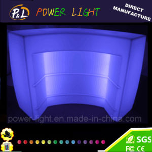 Rechargeable Bar Furniture Lighted LED Circular Bar Section pictures & photos