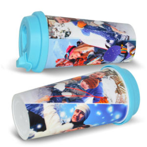 Wholesale Plastic Sublimation Travel Mugs Printing Sublimation Cup pictures & photos
