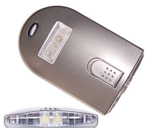 LED Card Light With Color, Flash Light