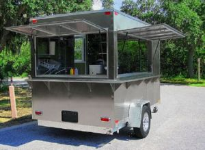 Global Heat Street Mobile Kitchen/ Vending Cart