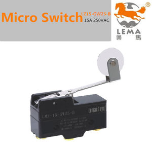 15A 250V Micro Limit Switch Z15-GW25-B pictures & photos