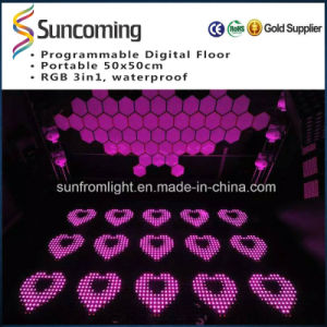 High Brightness P62.5 DIY LED Dance Floor pictures & photos