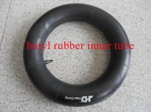Butyl Rubber and Natural Rubber Motorcycle Inner Tube (300-18)