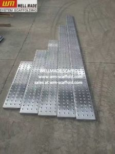Galvanized Scaffolding Planks Metal Scaffold Walking Boards pictures & photos