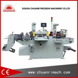 Auto Die Cutting Machine Used for Mylar Paper and Label (MQ-320A) pictures & photos