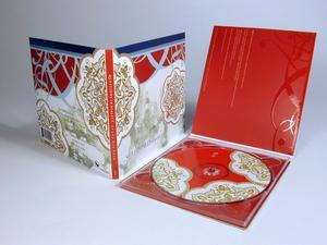 CD/DVD Custom Tray Packaging with Booklet pictures & photos