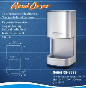 Hand Dryer (Touchless) (CD-609B)