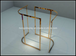 Metal Display Rack for Ladies Garment Rack, Stainless Gondola pictures & photos