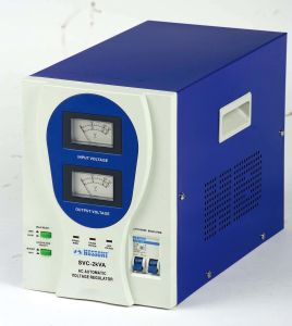 SVC-O Plastic Panel AC Voltage Stabilizer (AVR) pictures & photos