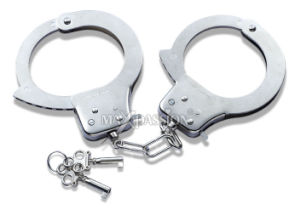 Funny Adult Toy - Glimmer Heavy-Duty Metal Handcuffs