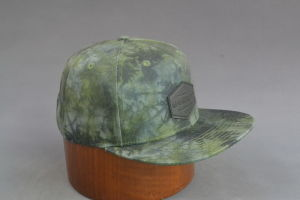 Sublimation Printing Snapback Hat with Embossed Leather Cap for Men pictures & photos