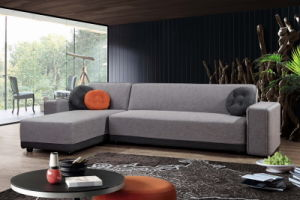 King Size Fabric Sectional Sofa Cum Bed pictures & photos