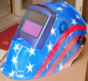 Auto-Darkening Welding Helmet Li-Mi & Solar Combination (S8004) pictures & photos