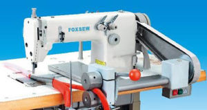 High Speed Double Needle Chain Stitch Folding Machine pictures & photos