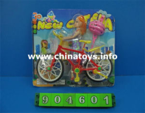 Solid Doll with Bike Set, Children Toys (904601) pictures & photos