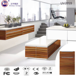 Modular UV Kitchen Cabinet Furniture pictures & photos