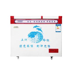 176L Large Frozen Small Refrigeration Top Open Door Freezer pictures & photos