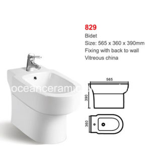 Bidet Ceramic Sanitary Ware for Women No. 829 Floor Mounted pictures & photos