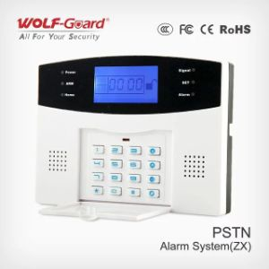PSTN Alarm System with Screen and Voice (wireless/wired) (433MHz or 315MHz) pictures & photos