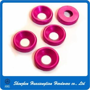 Color Anodic Oxidation Aluminum Fender Cup Washer pictures & photos