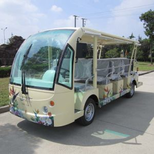 14 Seats Electric Sightseeing Bus for Tourist (DN-14) pictures & photos