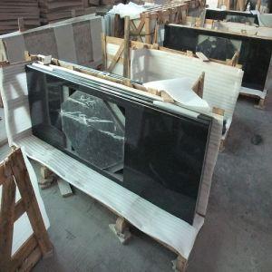 Natural Absolute Black Granite Kitchen Countertops/Worktops