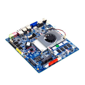 Itx Industrial Motherboard 1037 with 6COM/SIM / Lvds /DC Jack pictures & photos