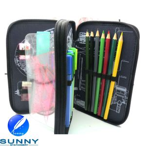 2 Tier Stationery Case for Children, Promotion Stationery Set pictures & photos