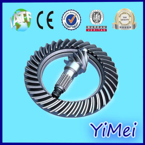 Long Life Spiral Bevel Gear Screw Jack in Cutting Machine pictures & photos