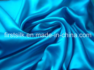 Cotton Silk Satin Fabric pictures & photos