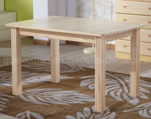 Solid Wooden Dining Table Living Room Furniture (M-X2902) pictures & photos