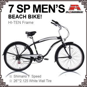 New 7 Speed Beach Cruiser Bike (ARS-2608S) pictures & photos