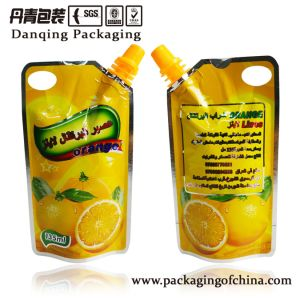 Stand up Pouches Juice Packaging Beverage Bag Dq181 pictures & photos