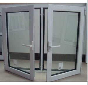 Double Glazing Thermal Break Aluminum Casement Window