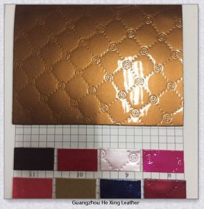 Popular Patent/Mirror PU Imitation Leather (9738) pictures & photos