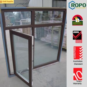 Pictures of Aluminium Casement Swing Outside Windows with Double Glass pictures & photos