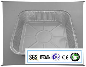 Alloy 8011-0 7 Microns 1700ml Capacity Eco-Friendly Aluminum Foil Container pictures & photos