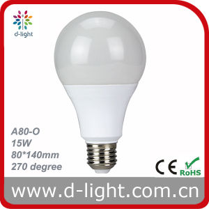 Bulbs LED A80 15W Dimmable 175V 265V pictures & photos
