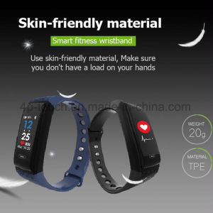 New Waterproof Sport Waristband Smart Bracelet with Multi-Functions K17s pictures & photos