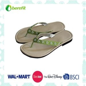 Confortable Wear Feeling, with PU and Canvas Straps, Slippers pictures & photos