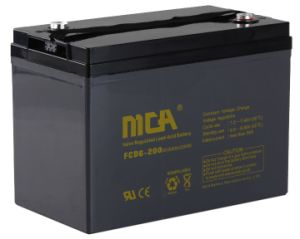 6V 200ah Deep Cycle UPS Battery with Ce, UL pictures & photos