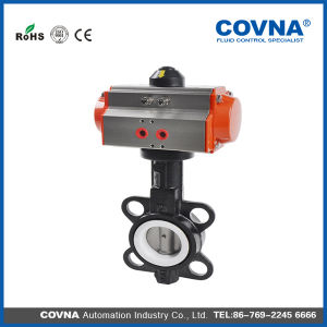 Pneumatic Butterfly Valve with High Performance pictures & photos