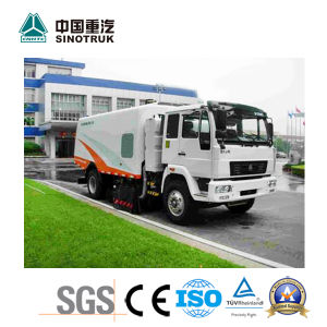 Very Cheap Sweeper Truck of Sinotruk 4kh1-Tc pictures & photos