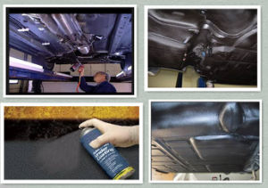 Eco-Friendly Aerosol Spray Rubberized Undercoating (AK-CC5009) pictures & photos