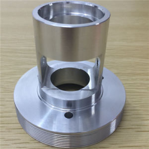 4 Axes CNC Center Precision with Aluminum Part